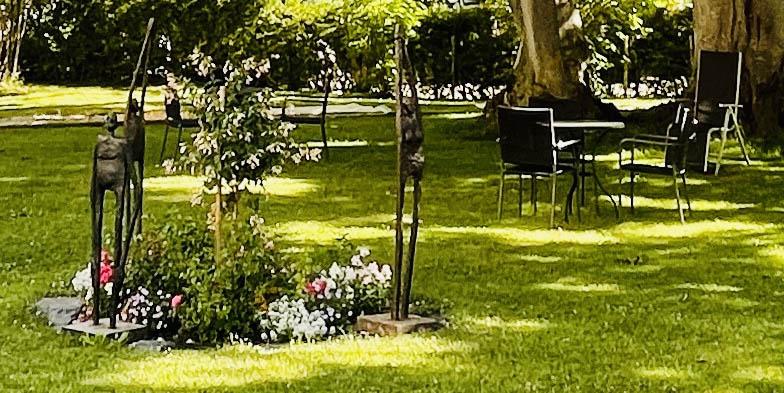 Gestalten im Garten